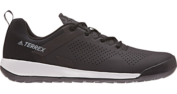 adidas TERREX Trail Cross Curb Shoes Men Core Black/Core Black/Grey One